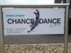 Nieuw Chance4Dance bord voor de studio