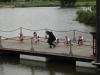 Chance4Dance bij opening veerstoep in Katwijk